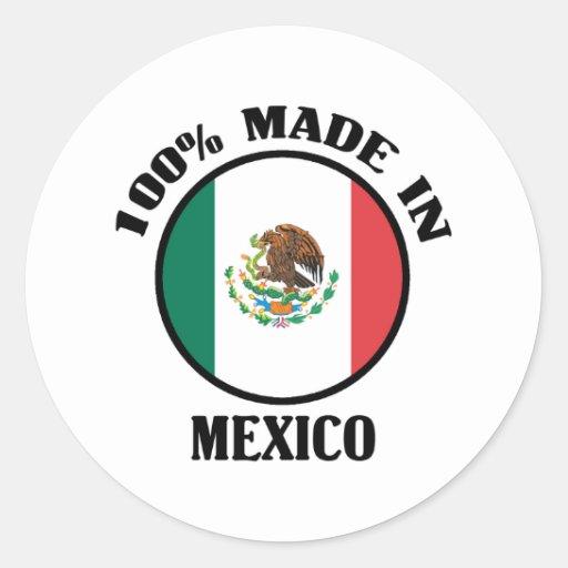 100% Mexico Sticker