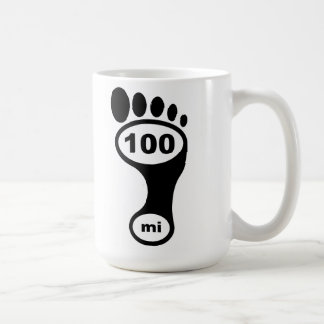 100 Miles Barefoot - Classic Mug