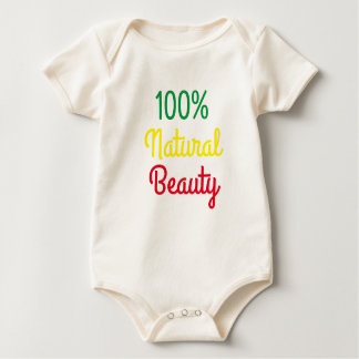 100% Natural Beauty Organic Cotton baby shirt