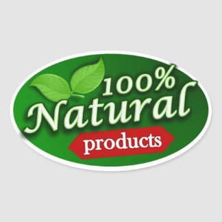 100 Natural Products Sticker