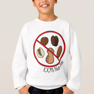 100% Nut Free (Tree nuts & Peanuts) Sweatshirt