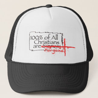 100% of Christians Logo Cap
