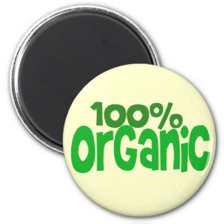 100% organic 2 inch round magnet