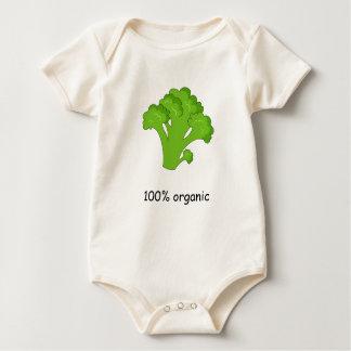 100% Organic Baby Bodysuit