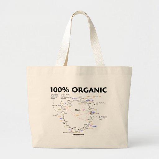 100% organique (cycle d'acide citrique - cycle de  sac en toile