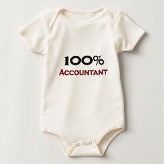 100 Percent Accountant Baby Bodysuit