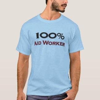 100 Percent Aid Worker T-Shirt