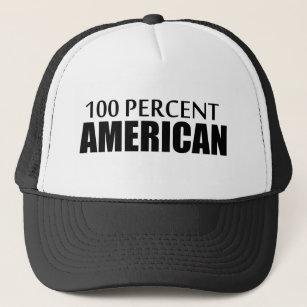 100 Percent American Trucker Hat