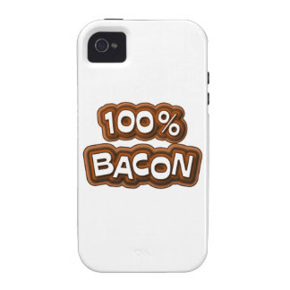100 Percent Bacon Case-Mate iPhone 4 Cases