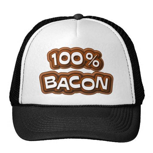100 Percent Bacon Hat