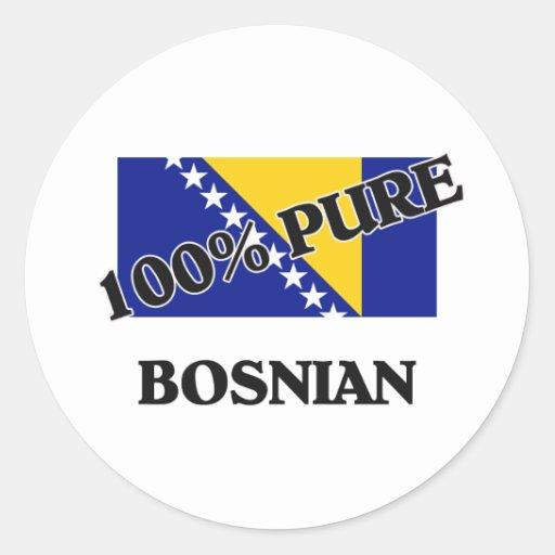 100 Percent BOSNIAN Sticker