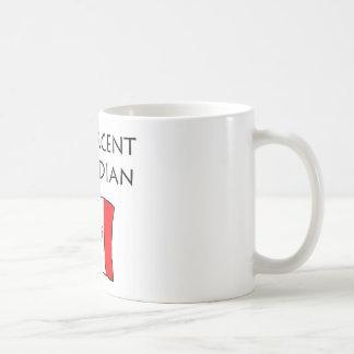 100 Percent Canadian Coffee Mug