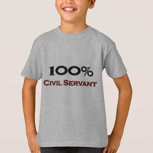 100 Percent Civil Servant T-Shirt