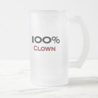 100 Percent Clown Coffee Mug