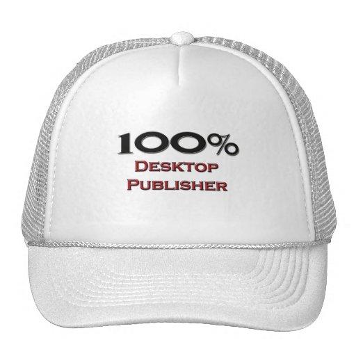 100 Percent Desktop Publisher Hat