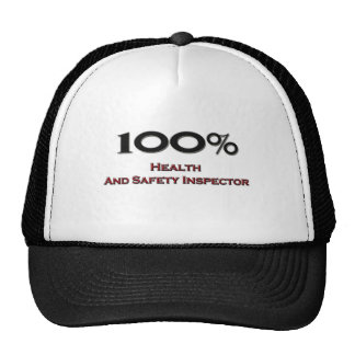 100 Percent Health And Safety Inspector Trucker Hat