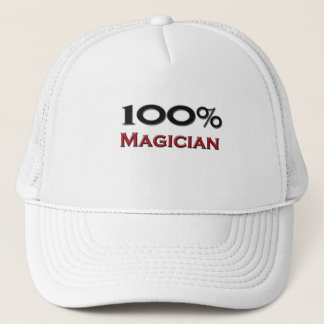 100 Percent Magician Trucker Hat