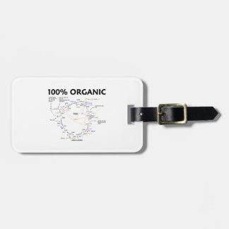 100 Percent Organic Krebs Cycle TCAC Bag Tag