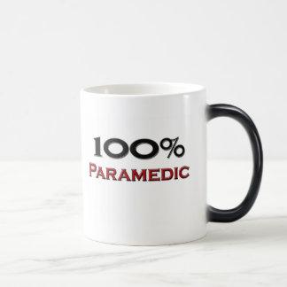 100 Percent Paramedic Coffee Mugs