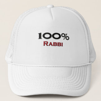 100 Percent Rabbi Trucker Hat