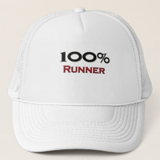 100 Percent Runner Trucker Hat