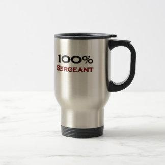 100 Percent Sergeant Coffee Mug