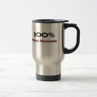 100 Percent Stage Manager Travel Mug