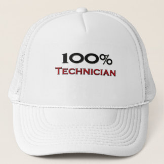100 Percent Technician Trucker Hat