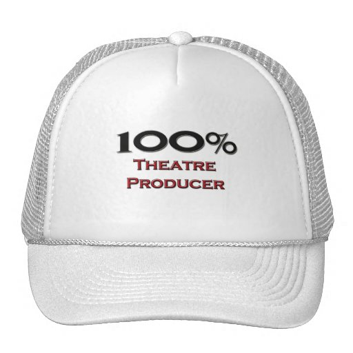 100 Percent Theater Producer Mesh Hats