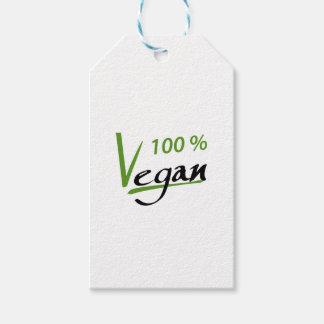 100 Percent Vegan Gift Tags