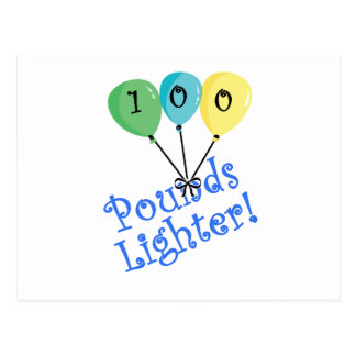 100 Pounds Lighter! Postcard