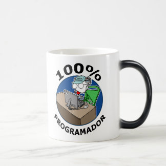 100% Programador Magic Mug