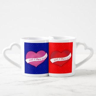 100% Pure love winter Coffee Mug Set