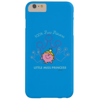 100% Pure Princess - Little Miss Princess Barely There iPhone 6 Plus Case