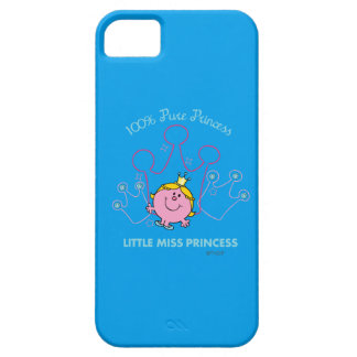 100% Pure Princess - Little Miss Princess iPhone 5 Cover