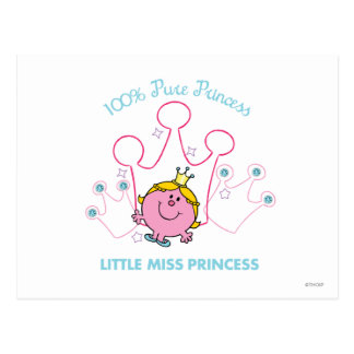 100% Pure Princess - Little Miss Princess Postcard