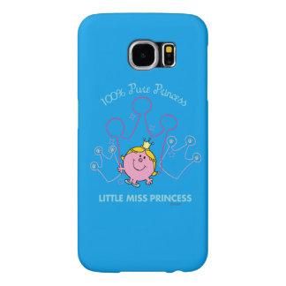 100% Pure Princess - Little Miss Princess Samsung Galaxy S6 Cases