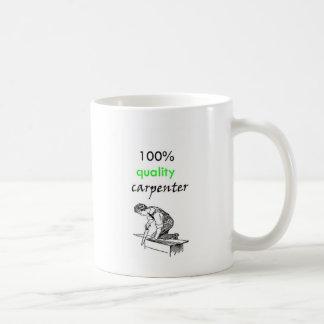 100% quality carpenter coffee mug