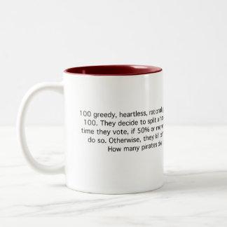 100 Rational Pirates Two-Tone Coffee Mug