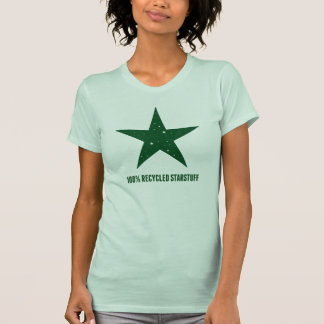 100% Recycled Starstuff-Green T-Shirt