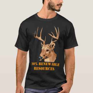 100% Renewable Resources T-Shirt