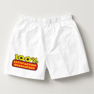 100% Satisfation Guaranteed Boxers