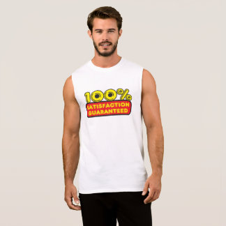 100% Satisfation Guaranteed Sleeveless Shirt