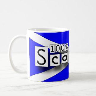 100% Scottish Coffee Mug