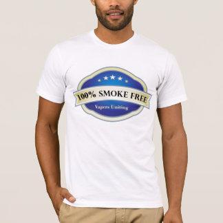 100% Smoke Free, Vapers Uniting T-Shirt
