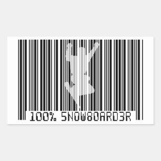 100% SNOWBOARDER 2 black barcode