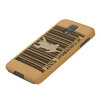 100% SNOWBOARDER 2 black barcode Cases For Galaxy S5
