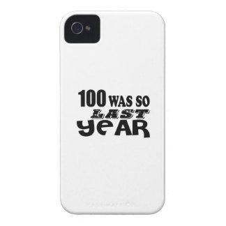 100 So Was So Last Year Birthday Designs iPhone 4 Case