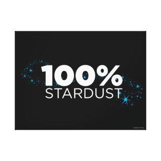 100% Stardust Canvas Print