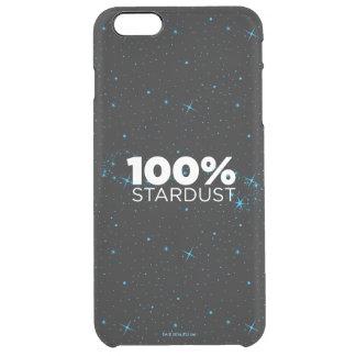 100% Stardust Clear iPhone 6 Plus Case